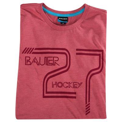 (Bauer F16 Vintage 27 Short Sleeve Hockey Shirt)