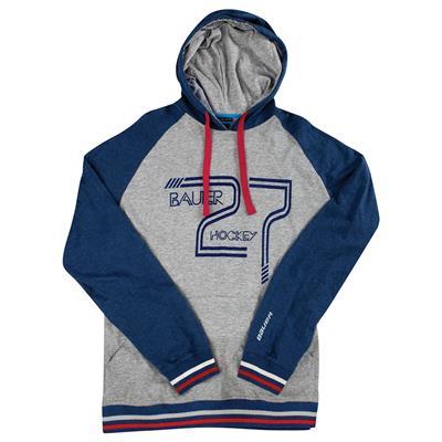 (Bauer F16 Vintage 27 Pullover Hockey Hoodie)