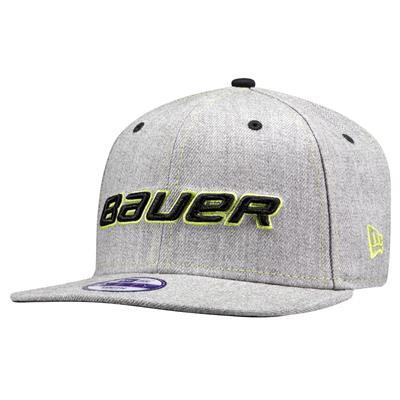 BF16 Top Stitch Flat 9/50 Hat (Bauer BF16 Top Stitch Flat 9/50 Hockey Hat)