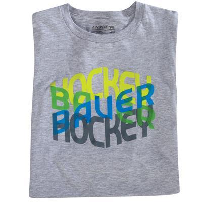 BF16 Hockey Repeat Logo Tee (Bauer BF16 Hockey Repeat Logo Hockey Shirt)