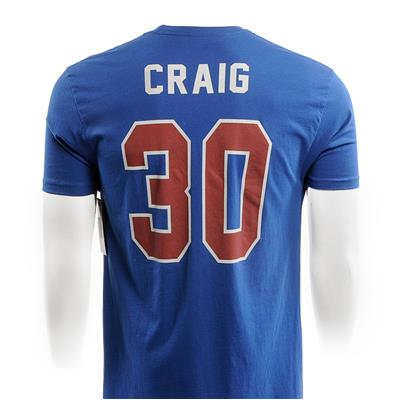 Back (1980 Jim Craig Miracle USA Hockey Jersey Tee)