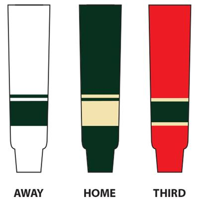 (NHL Team Hockey Socks - Minnesota Wild - Senior)