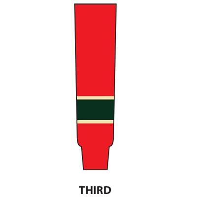 Third (NHL Team Hockey Socks - Minnesota Wild)