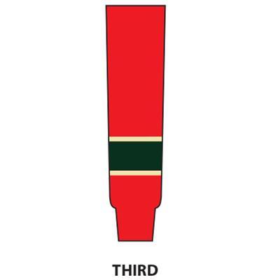 Third (NHL Team Hockey Socks - Minnesota Wild - Intermediate)