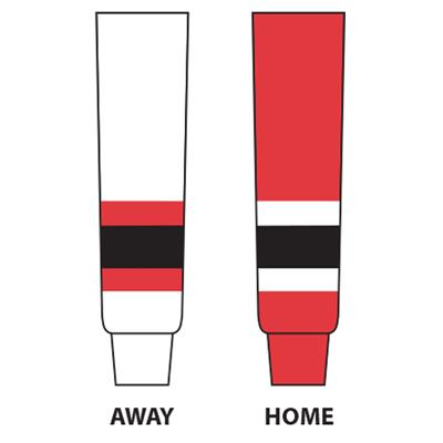 (NHL Team Hockey Socks - New Jersey Devils - Tyke)