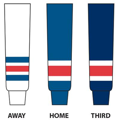 (NHL Team Hockey Socks - New York Rangers)
