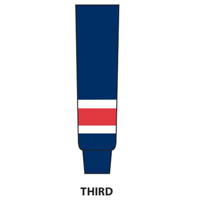 Third (NHL Team Hockey Socks - New York Rangers - Intermediate)