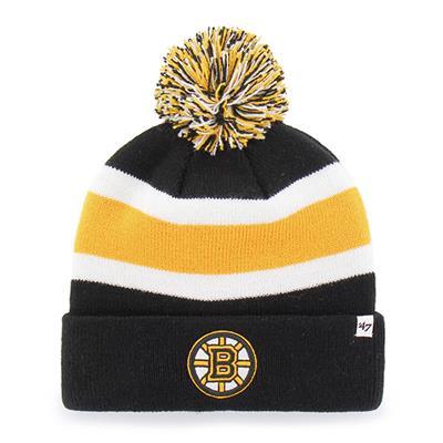 Front (47 Brand Bruins Breakaway Knit Hat)