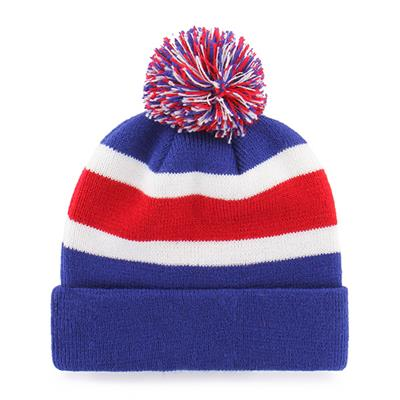 Back (47 Brand Rangers Breakaway Knit Hat)