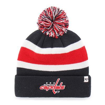 Front (47 Brand Capitals Breakaway Knit Hat)