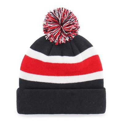Back (47 Brand Capitals Breakaway Knit Hat)