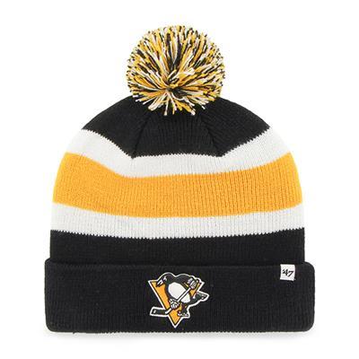 Front (47 Brand Penguins Breakaway Knit Hat)