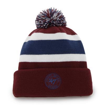 Back (47 Brand Avalanche Breakaway Knit Hat)