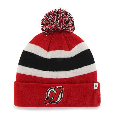 Front (47 Brand Devils Breakaway Knit Hat)