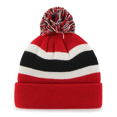Back (47 Brand Devils Breakaway Knit Hat)