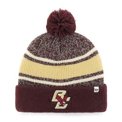 BC Front (47 Brand Fairfax College Team Knit Hat)