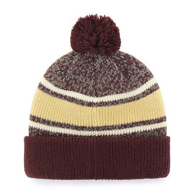 BC Back (47 Brand Fairfax College Team Knit Hat)