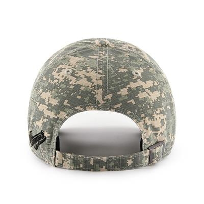 Back (47 Brand Wild Camo Officer Cap)