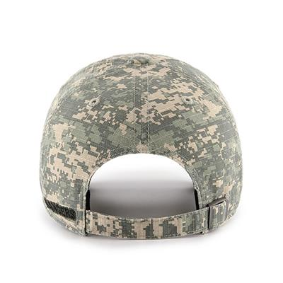 Back (47 Brand Rangers Camo Officer Cap)