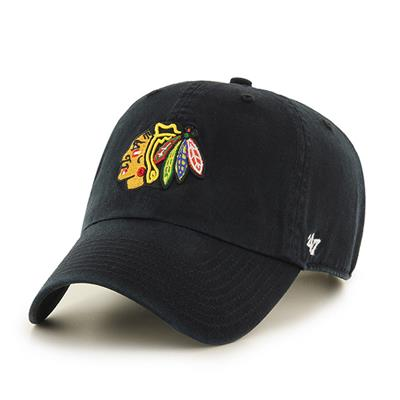 Front (47 Brand Blackhawks Clean Up Cap)