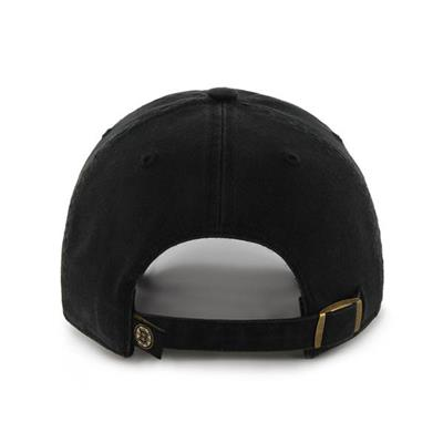 Back (47 Brand Bruins Clean Up Cap - Bear Logo)