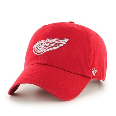 Front (47 Brand Red Wings Clean Up Cap)
