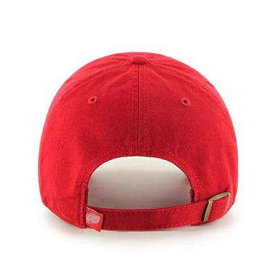 Back (47 Brand Red Wings Clean Up Cap)