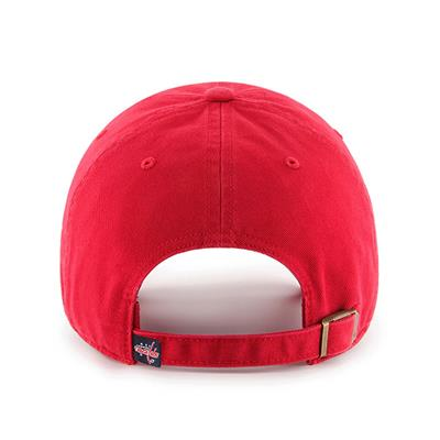 Back (47 Brand Capitals Clean Up Cap - Red)