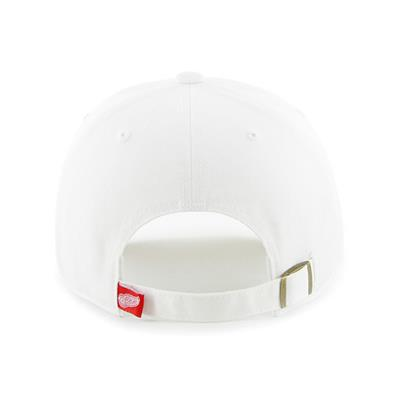Back (47 Brand Red Wings Clean Up Cap - White)