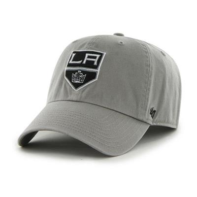 Front (47 Brand LA Kings Clean Up Cap - Grey)