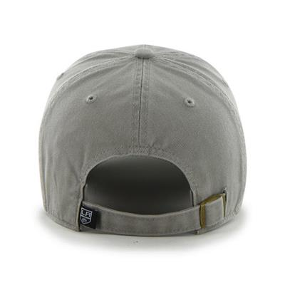 Back (47 Brand LA Kings Clean Up Cap - Grey)