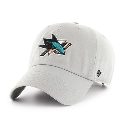 Front (47 Brand Sharks Clean Up Cap - Grey)