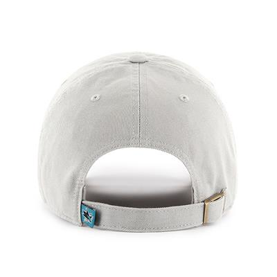 Back (47 Brand Sharks Clean Up Cap - Grey)