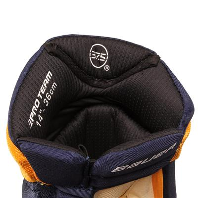 Liner View (Bauer PHC Vapor Pro Hockey Gloves - Senior)