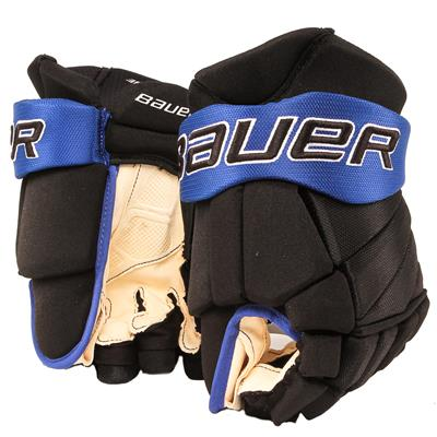 Black/Royal (Bauer PHC Vapor Pro Hockey Gloves - Senior)