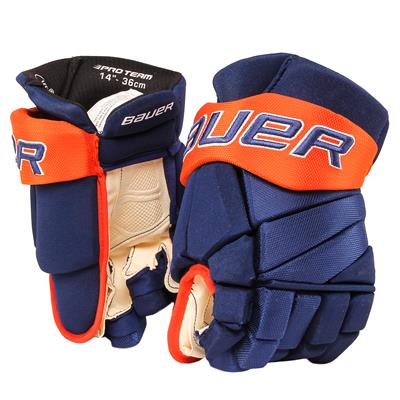 Blue/Orange (Bauer PHC Vapor Pro Hockey Gloves - Senior)