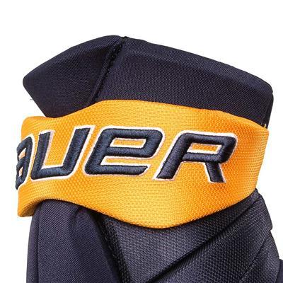Cuff View (Bauer PHC Vapor Pro Hockey Gloves - Junior)