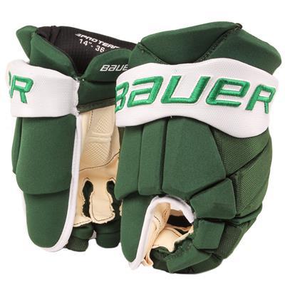 Green White (Bauer PHC Vapor Pro Hockey Gloves - Junior)