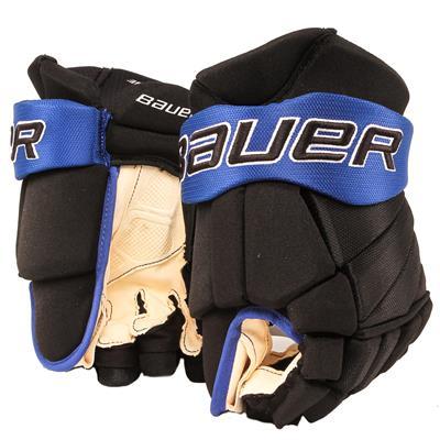 Black/Royal (Bauer PHC Vapor Pro Hockey Gloves - Junior)