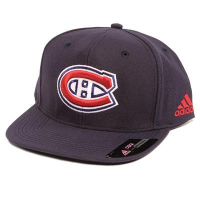 Flat Brim Canadiens Cap (Adidas Flat Brim Canadiens Cap)