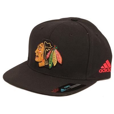 Flat Brim Blackhawks Cap (Adidas Flat Brim Blackhawks Cap)