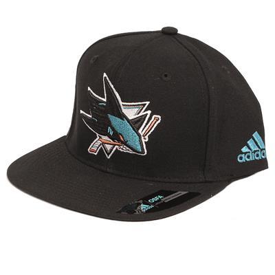 Flat Brim Snapback Sharks Cap (Adidas Flat Brim Snapback Sharks Cap)