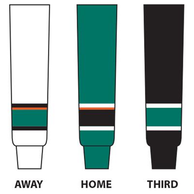 (NHL Team Hockey Socks - San Jose Sharks - Tyke)