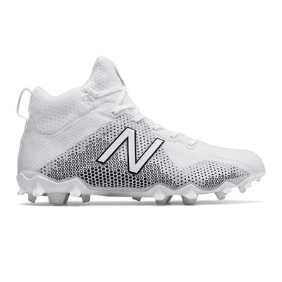 Outside (New Balance Freeze Mid-Cleat - White)