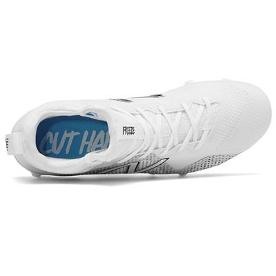 Top (New Balance Freeze Mid-Cleat - White)