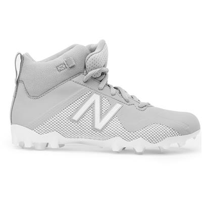 Outside (New Balance Freeze Junior Mid-Cleat - Grey/White)