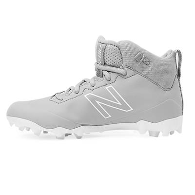 Inside (New Balance Freeze Junior Mid-Cleat - Grey/White)