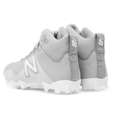 Heel (New Balance Freeze Junior Mid-Cleat - Grey/White)