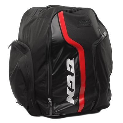 Black/Red (CCM 290 Wheeled Backpack Bag - Senior)