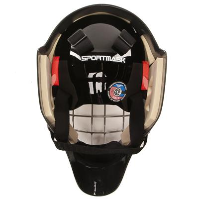 Back (SportMask Sportmask X8 Certified Goalie Mask - Senior)